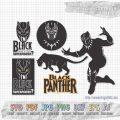 Black Panther set2 SVG