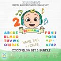 cocomelon baby fonts