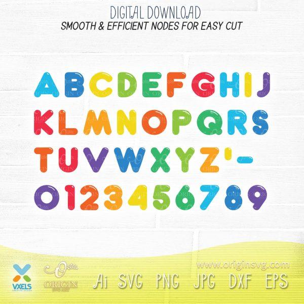 cocomelon fonts svg