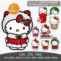 Hello Kitty Christmas Set