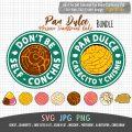 pan dulce starbucks SVG bundle