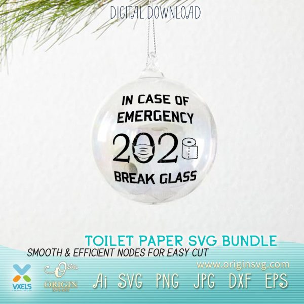 christmas toilet paper svg
