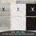 LV pattern multi colors