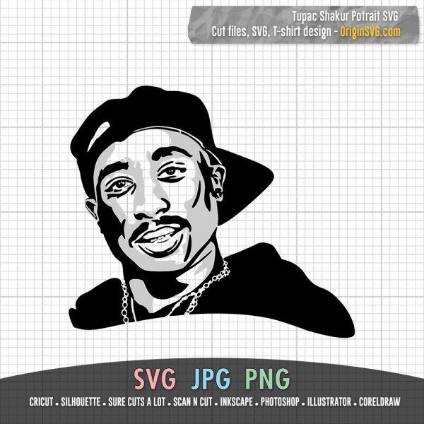 2PAC SVG Tupac Shakur