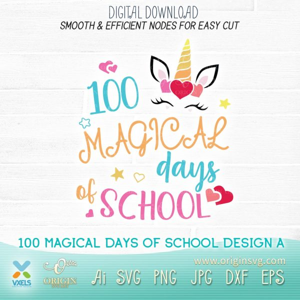 100 magical days of school