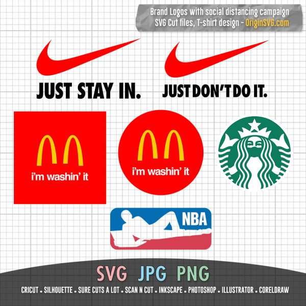 Brand Logo Social Distancing Campaign