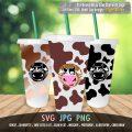 Starbucks Wrap Cow Skin