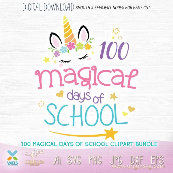 unicorn 100 days of school