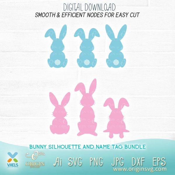 bunny silhouette