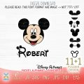 mickey mouse font