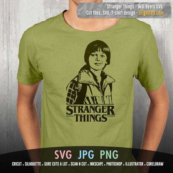Stranger Things Will Byers SVG