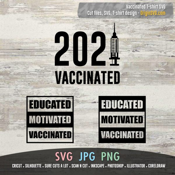 2021 Vaccinated Educated Motivated Vaccinated