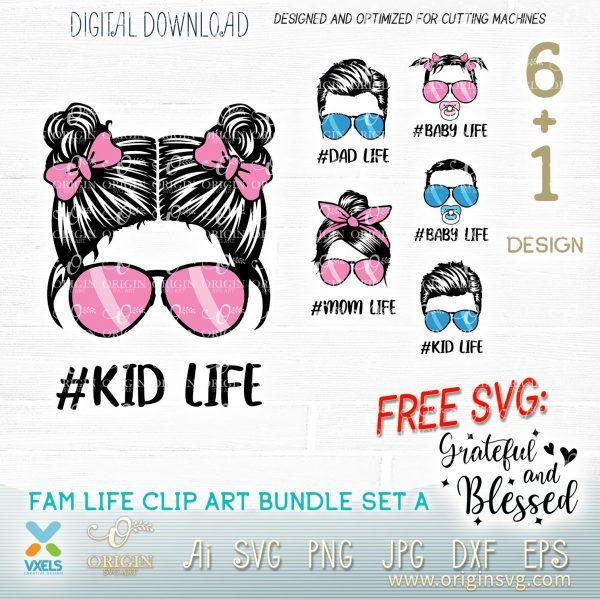 kid life svg