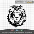 lion face SVG