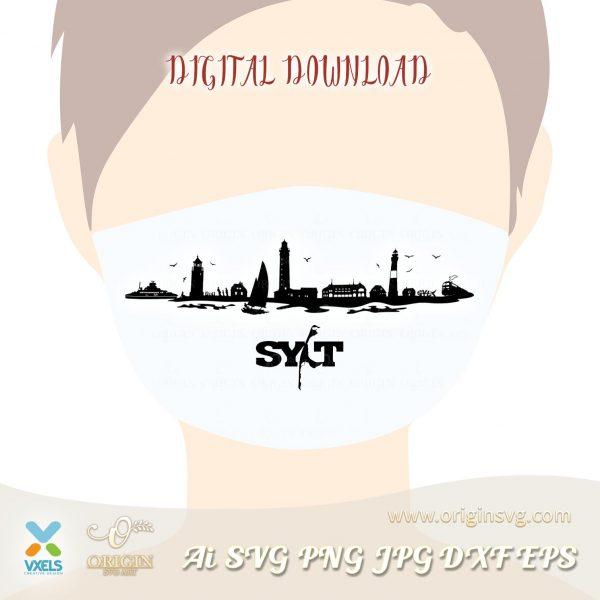 skyline face mask
