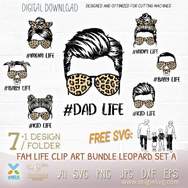 dad life svg