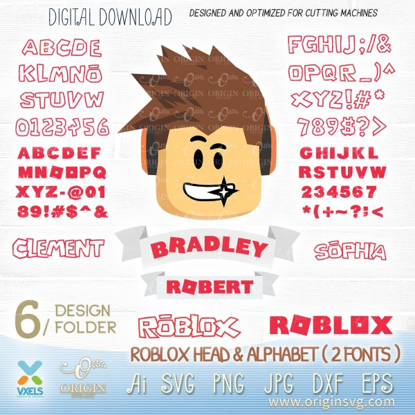 roblox head svg