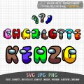 Crewmate Among Us Alphabet ABC