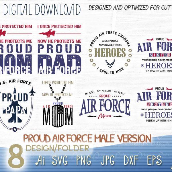 proud air force svg