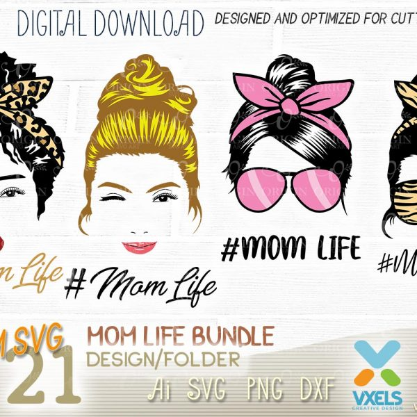 mom life cut file downloads