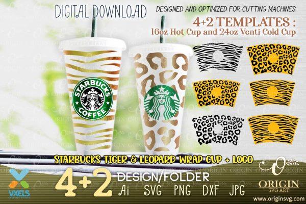 starbucks leopard cup