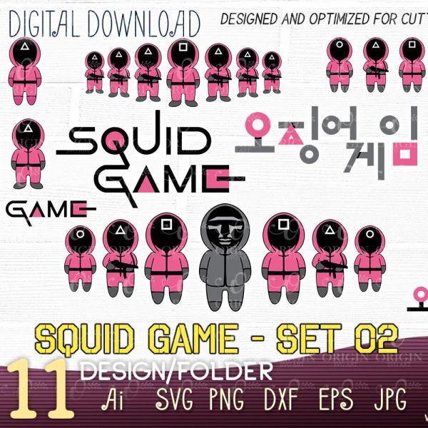 squid game cricut